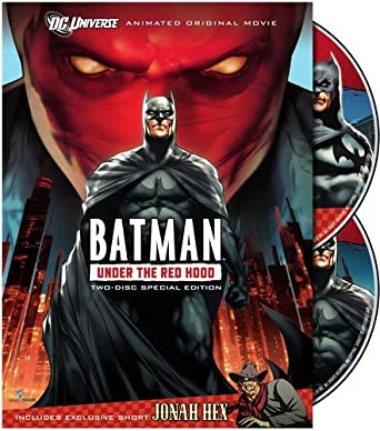Amazon Com Batman Under The Red Hood Two Disc Special Edition Bruce Greenwood Jensen Ackles John Dimaggio Neil Patrick Harris Jason Isaacs Wade Williams Brandon Vietti Movies Tv