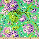 Amy Butler Love Bliss Bouquet Emerald Fabric By The Yard