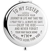 DIDADIC Sister Gifts from Sister Brother, Sisters Birthday Gift Ideas, for Girls...