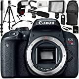 Canon EOS Rebel T7i DSLR Camera (Body Only) 12PC Accessory Bundle – Includes 32GB SD Memory Card + More – International Version (No Warranty) For Sale