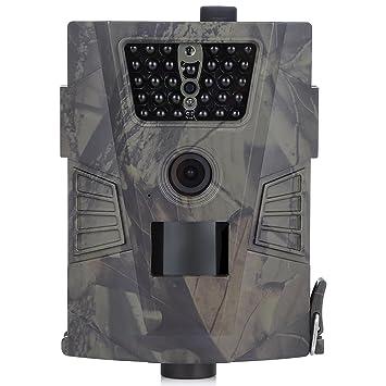 OutLife Cámara de Caza Trail Cámara Cámara Vigilancia 1080P HD PTR Sensor de 90 Grados Impermeable