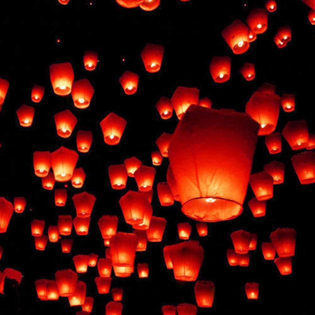 Uonlytech lanterne cinesi lanterne di carta da 4 pezzi lanterne giapponesi giapponesi a forma di cuore per cerimonie commemorative di celebrazioni di matrimoni