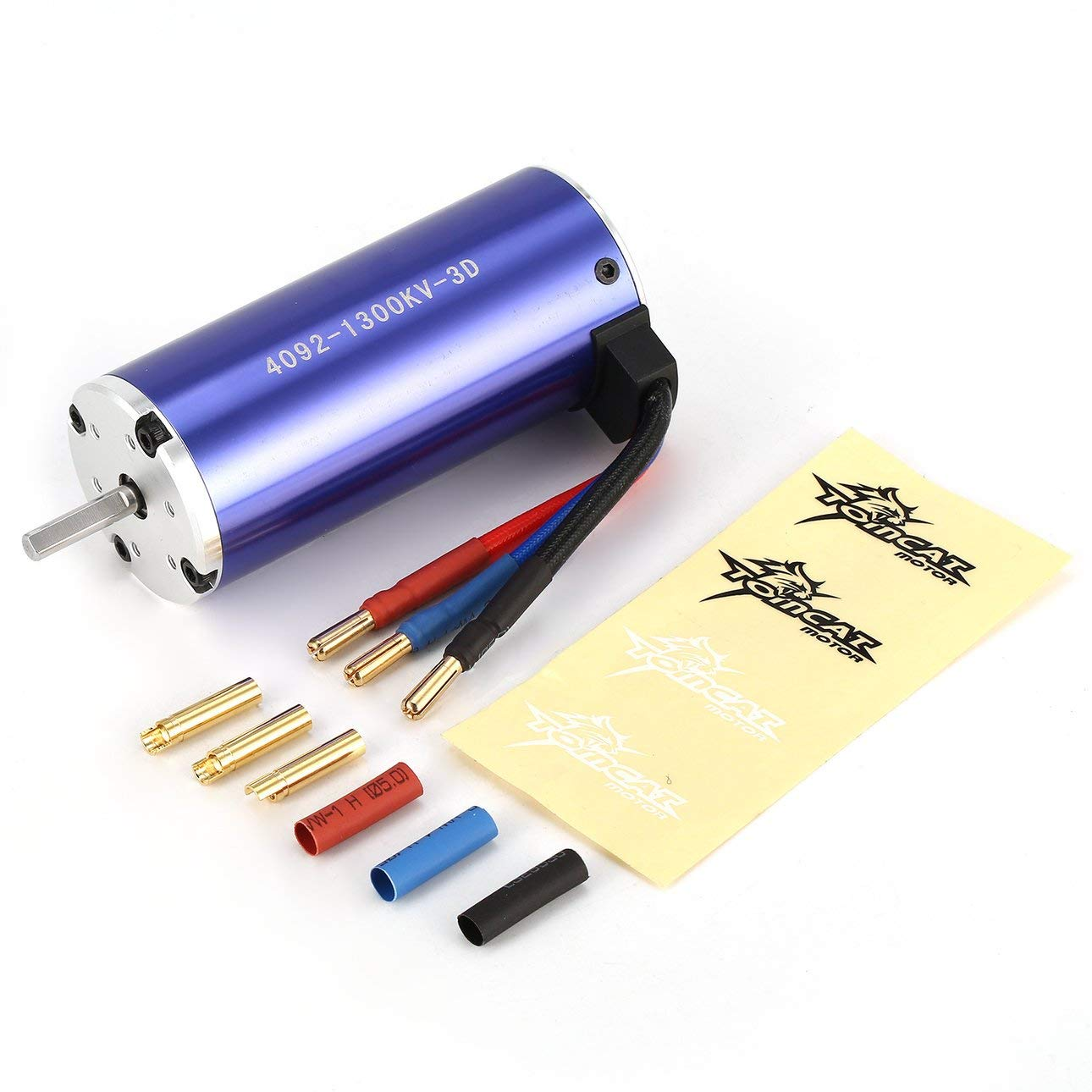 Liobaba TC-CY 4092 3D KV1300 5mm Sensorless Brushless Motor 1/8 Bigfoot RC Car Model Spare Parts Accessories Component