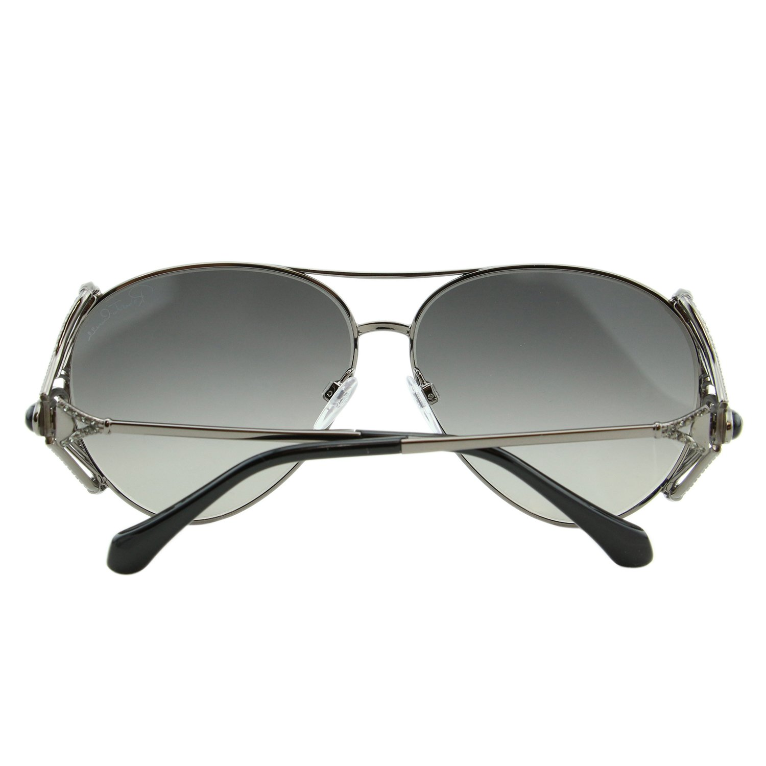 9e13929f702 Amazon.com  2018 Roberto Cavalli Fucecchio RC-1057 Women Swarovski Mirrored  Aviator Sunglasses  Clothing