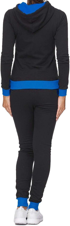 mit Kapuze und B/ündchen Regatta 672 Damen Jogginganzug Bequem und Sportlich Jacke und Hose |100/% Baumwolle