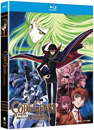 Amazon com: Code Geass: Lelouch of Rebellion - Season One [Blu-ray