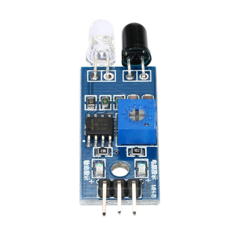 Fesjoy IR Infrared Sensor Module 20pcs Obstacle Avoidance Module Board for Arduino Smart Car Robot