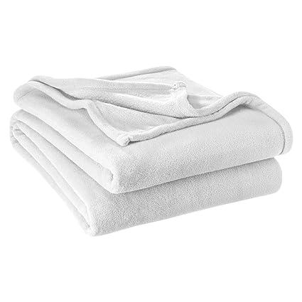 Bare Home Microplush Velvet Fleece Blanket - Twin Twin Extra Long - Ultra- Soft bb99e822c