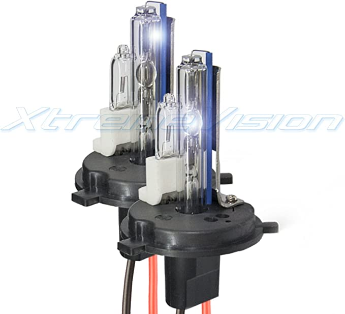 2 Year Warranty H10 // 9140 30000K 30K Deep Blue XtremeVision 35W Xenon HID Lights with Premium Slim Ballast