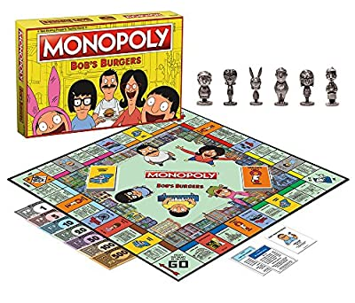 USAopoly Bob's Burgers Edition Monopoly Board Game from USAOPOLY, Inc.