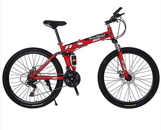KOSGK Bicicletas Unisex Bicicleta MontañA 26 - Cuadro Aluminio 17 con Frenos Disco - SeleccióN Multicolor: Amazon.es: Hogar