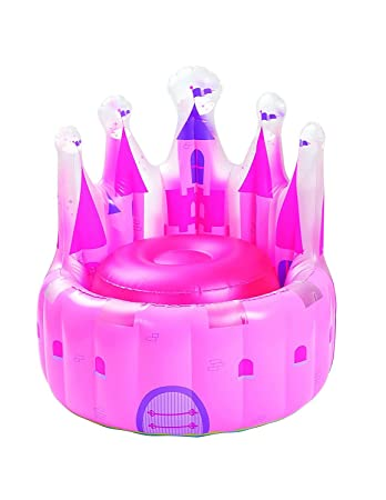 Castle Princess Kids Inflatable Chair U2013 Toy Fun Pink Inflatable Chair For  Kids Girls