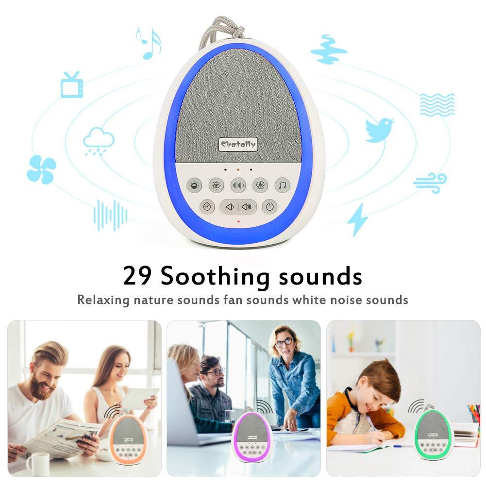 Amazon.com: Skatolly máquina de ruido blanco para bebé ...