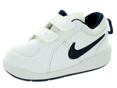 Nike Toddlers Pico 4 WIDE (TDV) White/Midnight Navy Casual Shoe 7 Wide