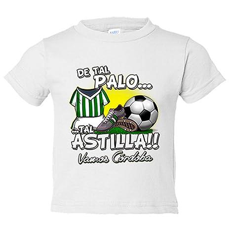 Camiseta niño De tal palo tal astilla Córdoba fútbol - Blanco, 3-4 años