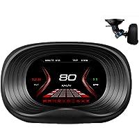 ECOOLBUY P20 Navigation Version HUD Head up Display GPS/OBD2 Dual System HD Color Screen Ai Intelligence GPS/OBD…
