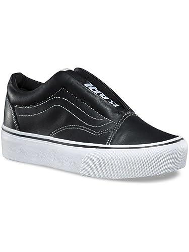 743b52fe50 Vans Sneaker Men Old Skool Laceless Platform Sneakers  Amazon.co.uk  Shoes    Bags