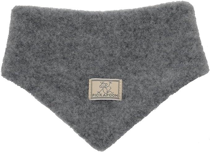 PickaPooh Baby//Kinder Schal aus Bio-Schurwoll-Fleece