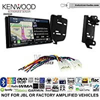 Volunteer Audio Kenwood Excelon DNX994S Double Din Radio Install Kit with GPS Navigation Apple CarPlay Android Auto Fits 2011-2015 Scion tC