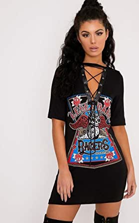 Mixed Neck T-Shirt For Girls