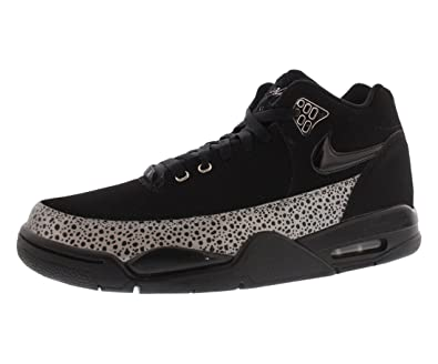 quality design 81757 945d5 Nike Flight Squad QS BLACK Men's Trainer Size:UK_9.5: Amazon.co.uk: Shoes &  Bags
