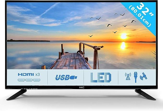 HKC 32C9A: 80 cm (32 Pulgadas) Televisor LED (HD Ready, Triple ...