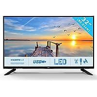 HKC 32C9A: 80 cm (32 Zoll) LED Fernseher (HD Ready, Triple Tuner, CI+, HDMI, Mediaplayer USB 2.0) [Energieklasse A]