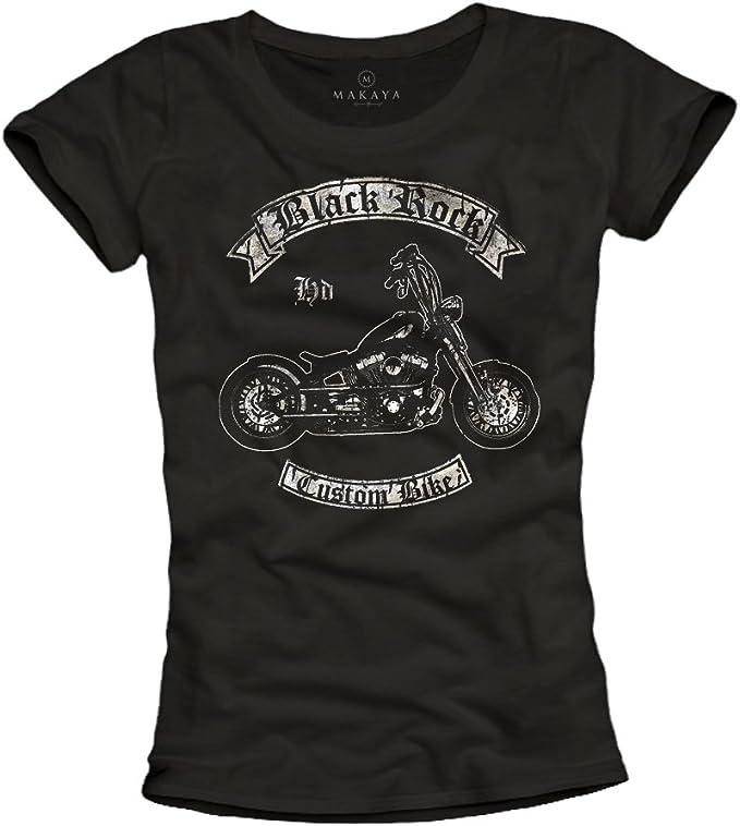 Camiseta Motera Mujer Chica