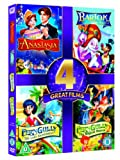 Anastasia/ Bartok the Magnificent / Ferngully / Ferngully 2 [DVD] [1992] [Import]