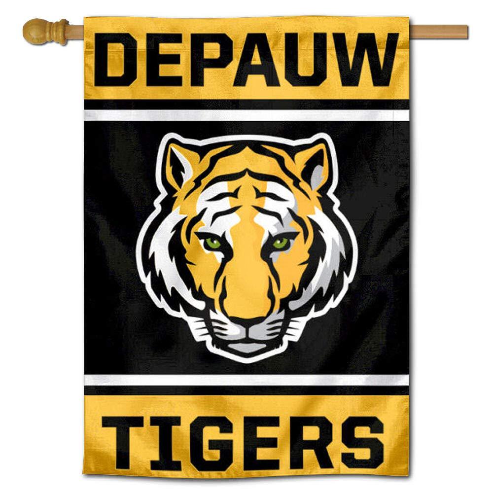DePauw Tigers 両面 ハウスの旗