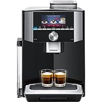 Siemens TI915539DE Kaffeevollautomat (1500 Watt, Integriertes Milchsystem, One Touch, Reinigungsprogramm, Tassenwärmer, Doppeltassenbezug) klavierlack