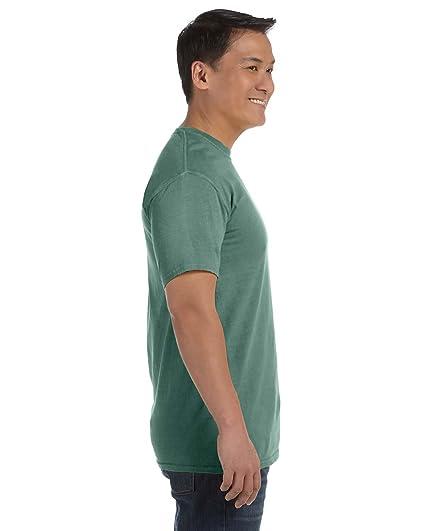 4d18b323 Amazon.com: Comfort Colors - Garment Dyed Heavyweight Ringspun Short Sleeve  Shirt - 1717 - M - Light Green: Clothing