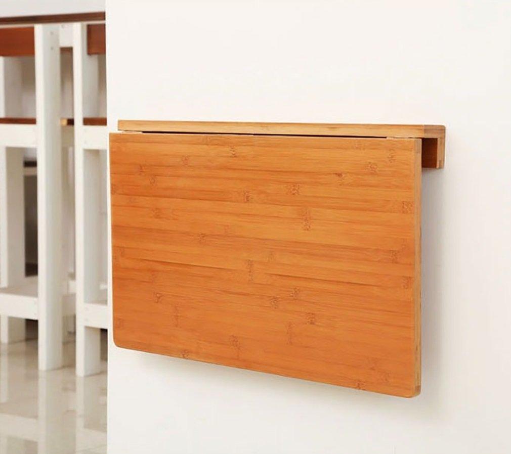 ZJM 木製壁掛けテーブル壁掛け式サイドテーブルキッチンダイニングテーブルコンピュータデスク ( サイズ さいず : 100*45cm ) B0793LVMLL 100*45cm 100*45cm