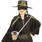 Generique - Kit Zorro Spada, Maschera e Cappello bambiniKit Zorro Spada, Maschera e Cappello Bambini Taglia Unica