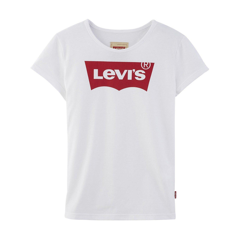 Levi's SS Tee Nos Bat, T-Shirt Fille