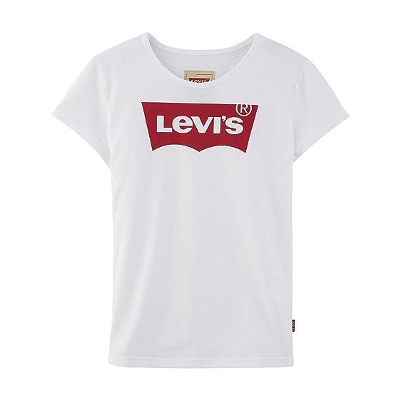 135a93035ac Levi s Kids T-shirt manches courtes Fille  Amazon.fr  Vêtements et  accessoires