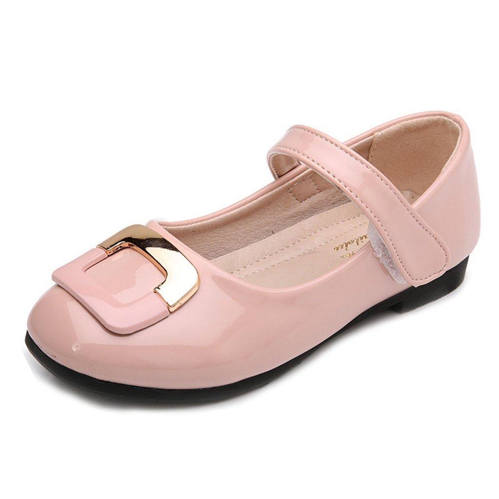 GIY Kids' Girl's Ballet Mary Jane Glitter Casual Slip On Ballerina Dress Party Flats Shoes