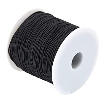 1mm Hochelastische Runde elastische Band Runde elastische Seil Gummiband 25M
