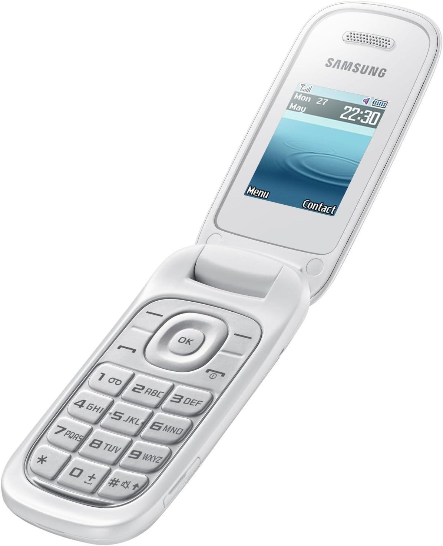 Samsung GT E1270 Smartphone, Marchio TIM, Bianco [Italia]
