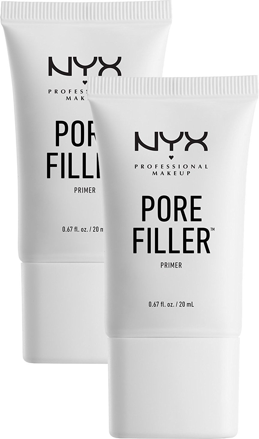 Lot de 2 bouche-pores NYX Primer - Base de maquillage - 2x 20ml NYX Cosmetics