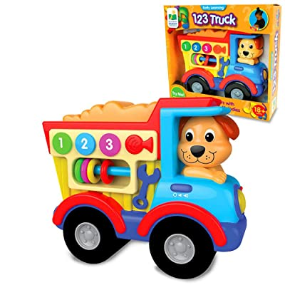 The Learning Journey Early Learning Vehicles – 123 Truck – Sing-Along Electronic STEM Educational Toddler Toy That Teaches 123 – Toys & Gifts for Boys & Girls Ages 18+ Months: Toys & Games