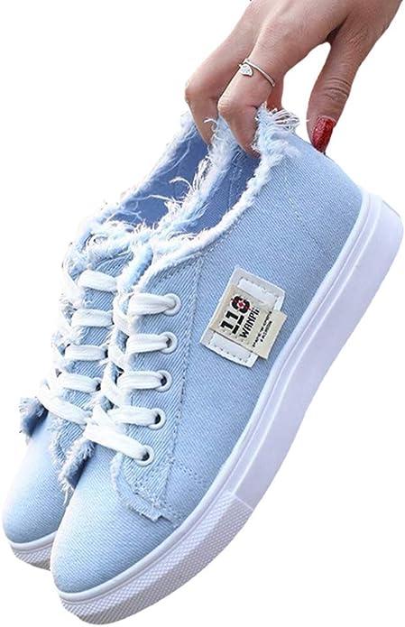 Canvas Flats Shoes Women Casual Flats