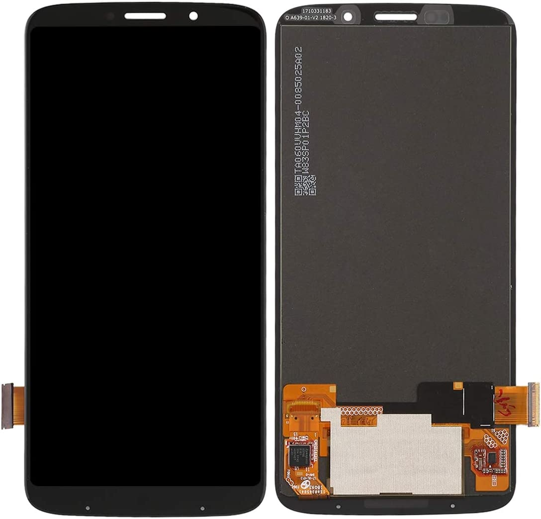 Black Color : Black LCD Screen Mobile Phone and Digitizer Full Assembly for Motorola Moto Z3 Play