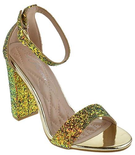 f874de5d931 Forever Amber 03 Womens Open Toe Chunky Heel Sandals