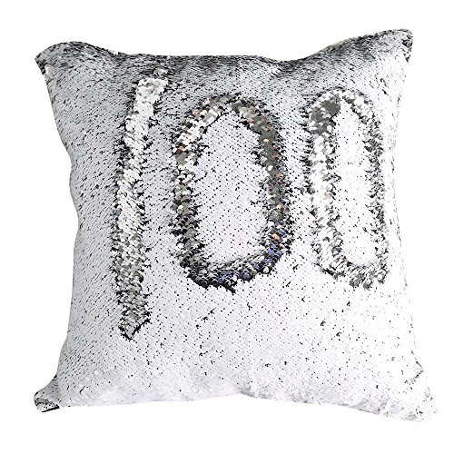 Tiaronics Magic Reversible Sequins Mermaid Pillow Cases Throw Pillow Covers