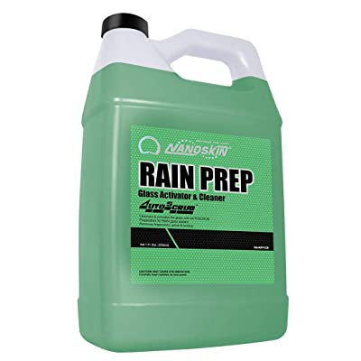 Nanoskin RAIN PREP Glass Activator and Cleaner [NA-RPP128], 1 Gallons: Automotive