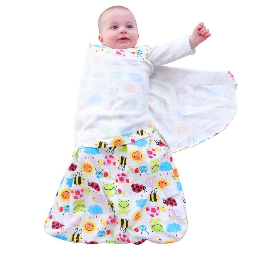 Estong Sleepsack 100 Cotton Nest Soft Wrap Baby Swaddle Wearable