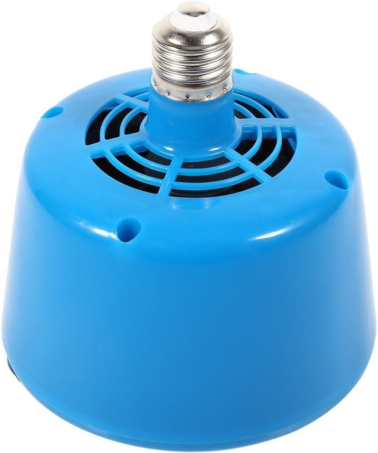 Haofy Lámpara de Calor para Mascotas E27 para Aves de Corral (Azul)