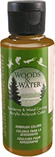 product image for Badger Air-Brush Co. 4-Ounce Woods and Water Airbrush Ready Water Based Acrylic Paint, Camo Brown