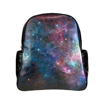 Custom Galaxy fondos Tumblr Multibolsillos mochila escolar bolsa de viaje: Amazon.es: Electrónica